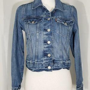 Levi's Jean Jacket Medium Wash Size Medium